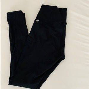 Fabletics Black High Waist Leggings with Pocket